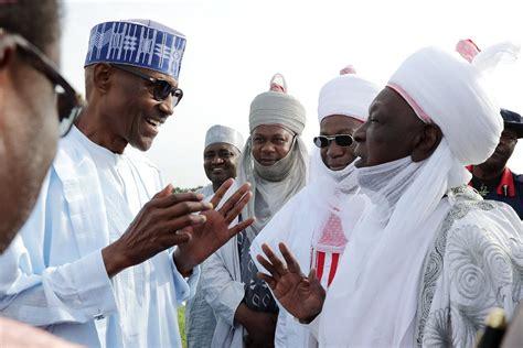 buhari arrives katsina state to daura for sallah