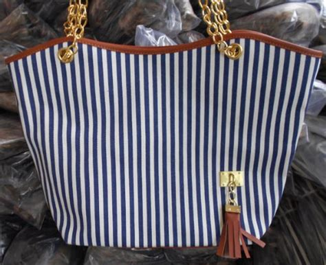 Handbag Anc2115 New Arrival Maret autom fashion stripe design snap candid tote