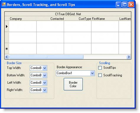delphi checkbox tutorial tutorial 22 borders scroll tracking and scroll tips