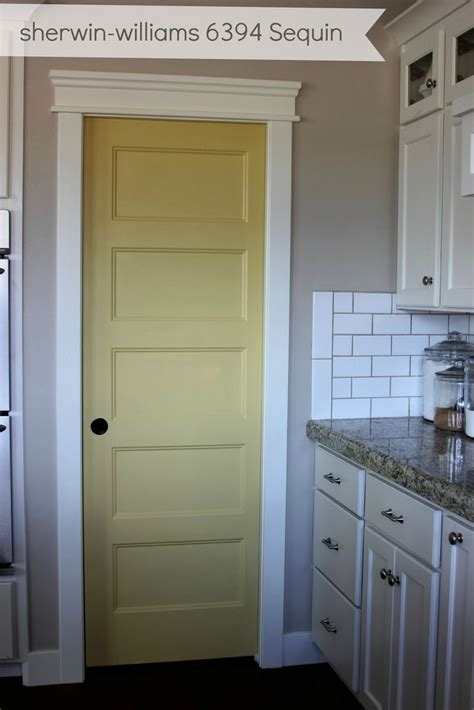 kitchen cabinets with different colored doors 25 best ideas about painted pantry doors on pinterest