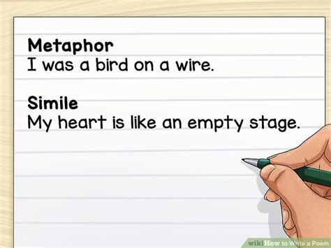 How To Write A Poetry Essay by How To Write A Poem With 3 Sle Poems Wikihow