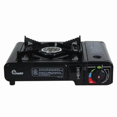 chard 8 500 btu 1 burner gas butane stove in black sbbcs85