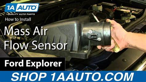 how to replace air flow meter sensor 04 13 ford explorer 4 6l v8