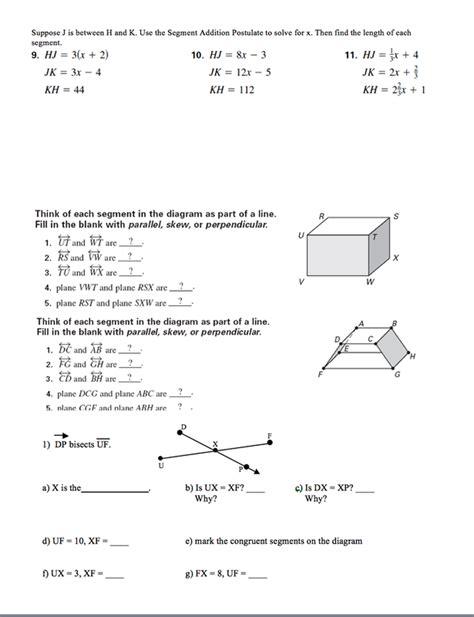 Angle Addition Worksheet by Angle Addition Postulate Worksheet Abitlikethis