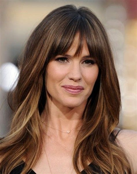 high foreheaf hair styles for women 40 years abd up oval face 25 best ideas about bangs long hair on pinterest long