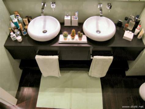 bagno con due lavandini arredamento a diotti a f arredamenti