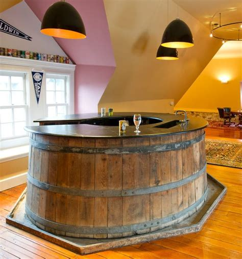 Wine Barrel Design Ideas by Trendy Barware Ideas For Home Settings