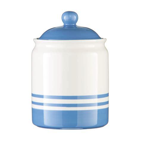 kitchen canisters blue new cornish blue stripe ceramic tea coffee sugar storage