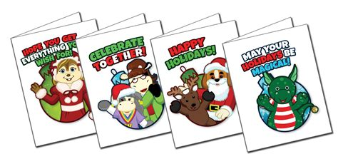 free printable christmas cards add photo printable christmas cards with codes wkn webkinz newz