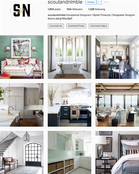 Top Home Design Instagram by The Best Instagram Accounts To Follow For Home Inspiration
