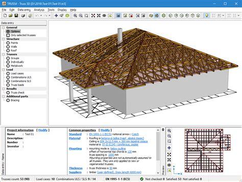 user interface roof truss design truss fine