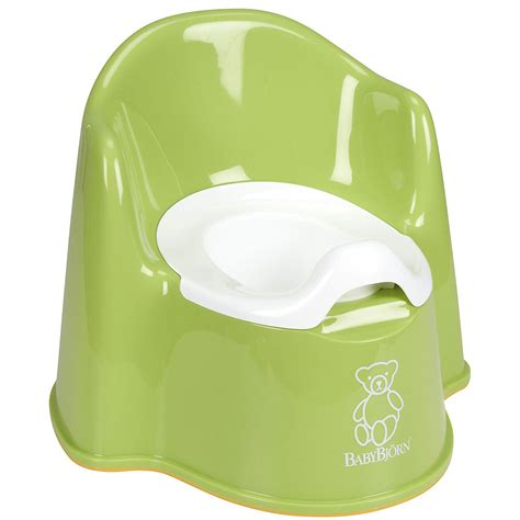 baby potty chair babybjorn potty chair green baby diapering potty