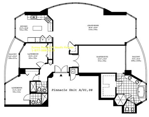 pinnacle floor plans pinnacle sunny isles beach condo 17555 collins ave miami