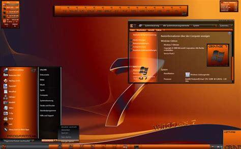 orange themes for windows 10 10 best custom windows 7 aero themes