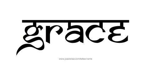 grace name designs