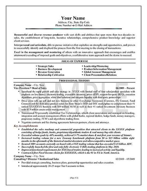 executive summary resume sles 266 best images about resume exles on