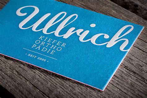 Visitenkarten Edel by Letterpress Visitenkarten Besonders Edel Und Exklusiv