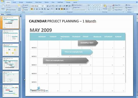 power point calendar template how to edit a calendar in powerpoint