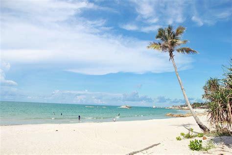 pantai terindah  pulau bangka  wajib dikunjungi