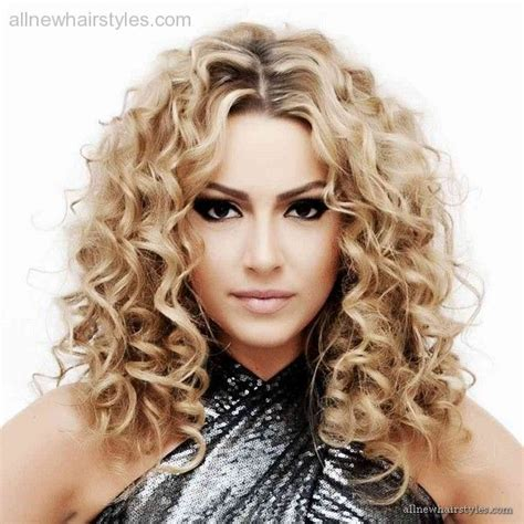 Spiral Curls Toward The Face Period | loose spiral perms for medium hair 4 jenz pinz