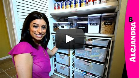 alejandra organization video insider tour of professional organizer alejandra