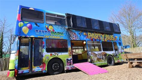 themed party bus birthday party tayto park theme park zoo