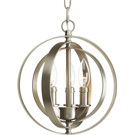 Sphere Pendant Light P5142 20 Thomasville Lighting P5142 20 Equinox 3 Lt Sphere Pendant In Antique Bronze