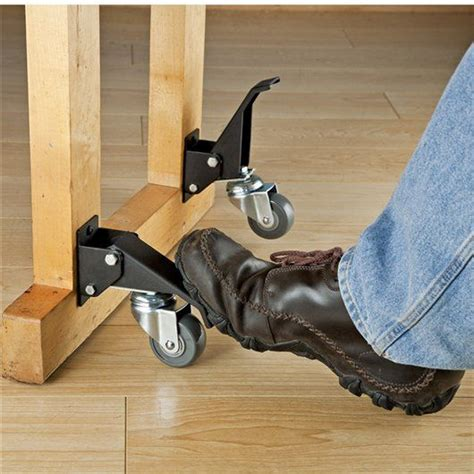 rockler toe lift casters woodworking tools american