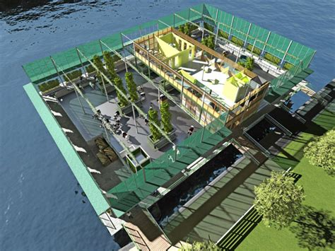 Floating Houses Holy Cow The World S First Floating Urban Dairy Farm