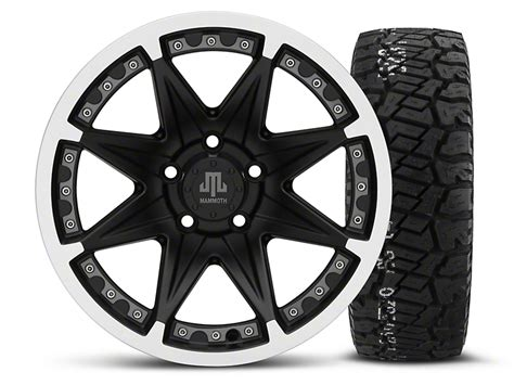 Bfgoodrich Sweepstakes - mammoth wrangler type 88 black 16x8 wheel and bf goodrich all terrain ta ko2 tire