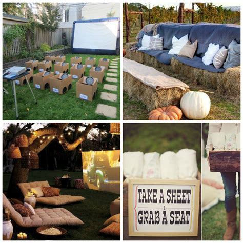 backyard movie party how to host a backyard movie party diy for life