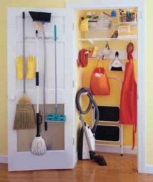 The Broom Closet by Organize Your Broom Closet Real Simple