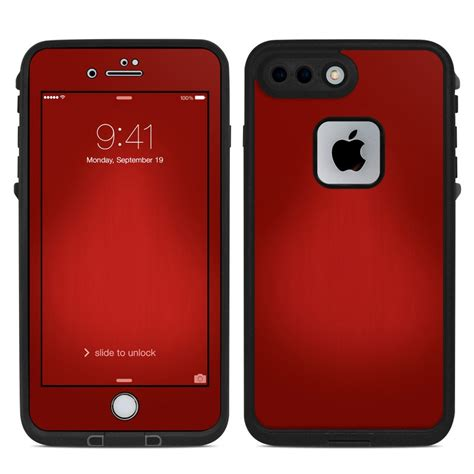 lifeproof iphone   fre case skin red burst decalgirl