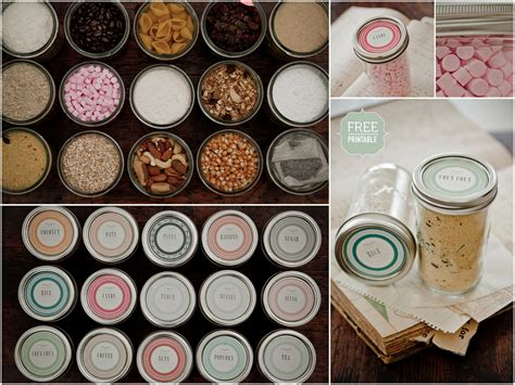 martha stewart printable jar labels labels to love live simply by annie