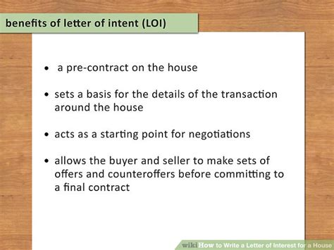 write a house 3 ways to write a letter of interest for a house wikihow
