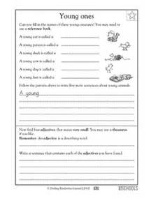 free printable 3rd grade writing worksheets word lists