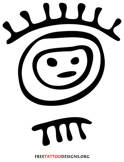 tribal tattoos and what they mean taino indian warrior symbols www pixshark images
