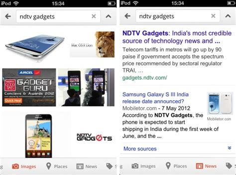 google images search iphone google revs search app for iphone technology news