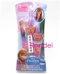 New Make Up Kit Frozen Murah disney frozen make up set kit nail file stickers glitter new