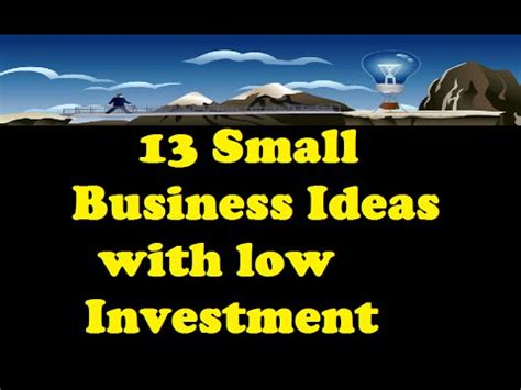 Positive Business Ideas Gwee Berkualitas 13 Small Business Ideas With Small Capital