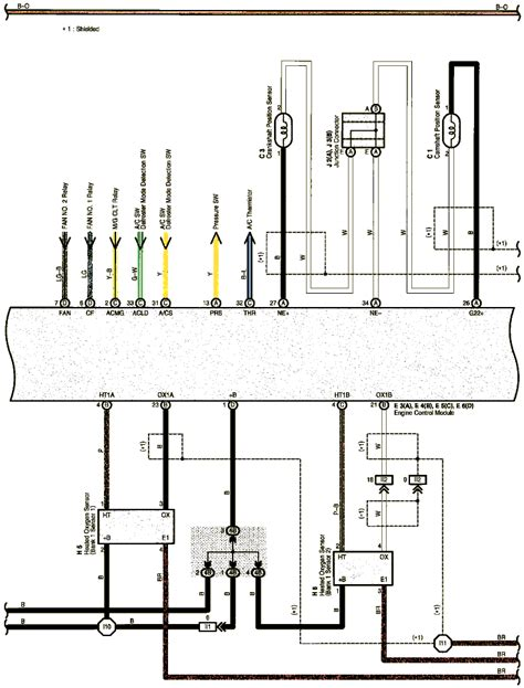 toyota corolla oxygen sensors wiring diagram mazda 6