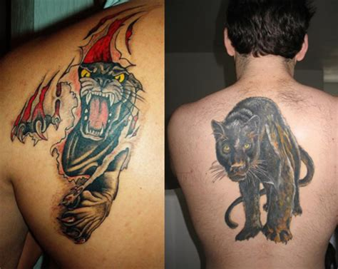 black panther tattoos for men panther images designs