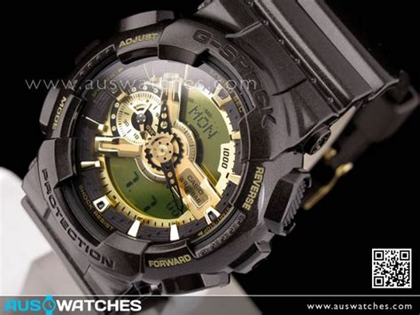 Casio G Shock Ga 110 Levis Brown buy casio g shock brown gold 200m world time ga