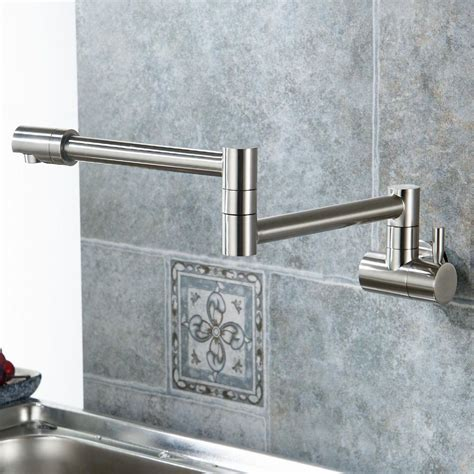wall mounted kitchen faucet with sprayer wall mounted kitchen faucet with sprayer in accord with
