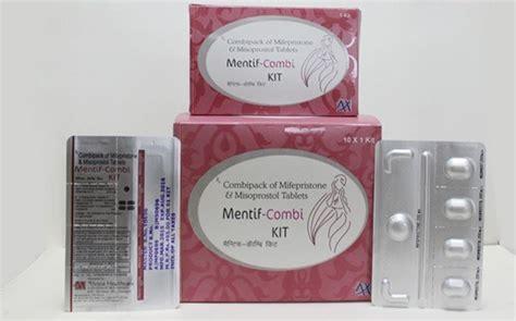 Obat Misoprostol 200mg mifepristone 200 mg and 4 misoprostol 200 mcg mentif combi kit tablets alvizia health care