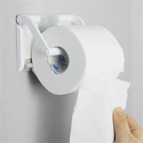 bathroom paper towel dispenser for home plastic magnetic wall mounted kitchen bathroom towel paper