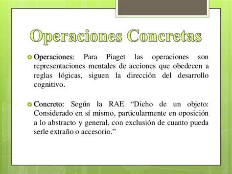 imagenes de operaciones mentales operaciones concretas piaget