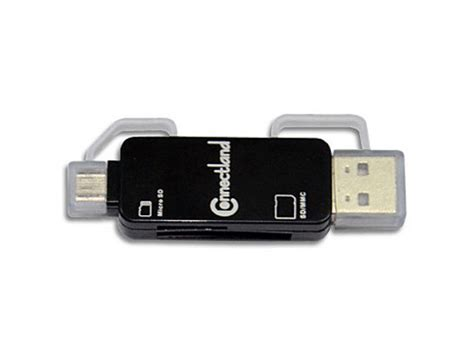 Card Reader Otg Micro Multi Slot otg micro usb multi card reader