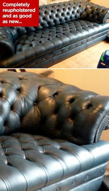 chesterfield sofa repair reupholstery and restoration