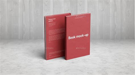Book Book by Book Mock Up By Webandcat Graphicriver